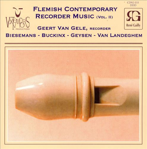 Flemish Contemporary Recorder Music, Vol. 2