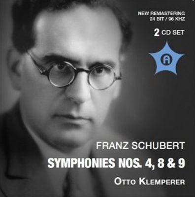 Schubert: Symphony Nos. 4, 8 & 9  (1957-1960)