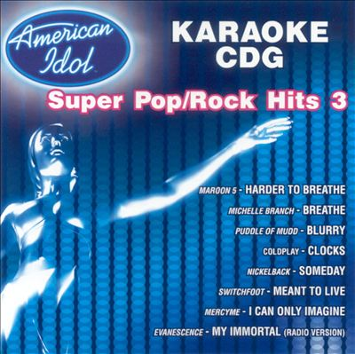 American Idol Super Pop/Rock Hits, Vol. 3