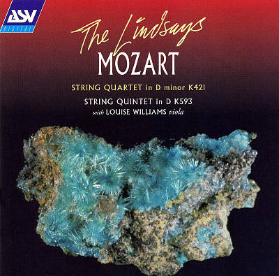 Mozart: String Quartet in D minor K421; String Quintet in D K593