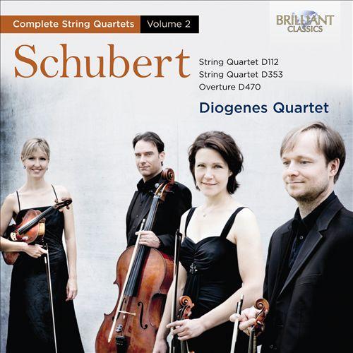 Schubert: Complete String Quartets, Vol. 2