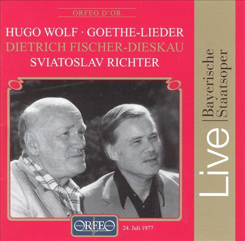 Hugo Wolf: Goethe-Lieder