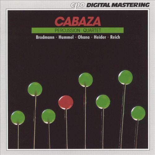 Cabaza Percussion Quartet