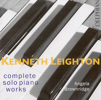Kenneth Leighton: Complete Solo Piano Works