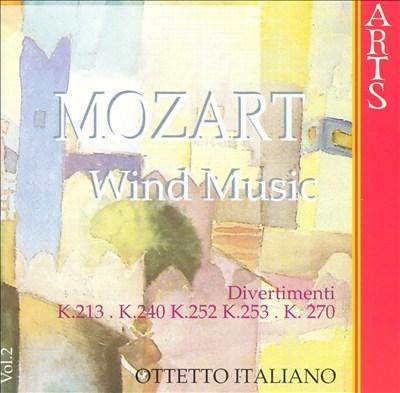 Mozart: Wind Music, Vol. 2