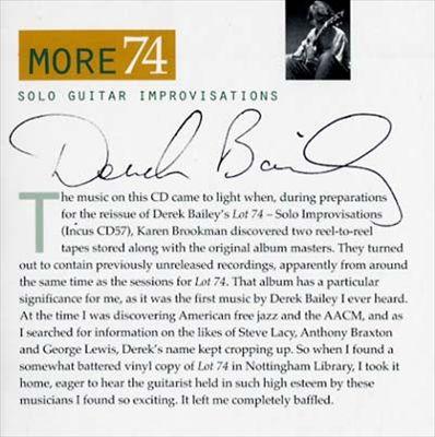 More 74: Solo Guitar Improvisations