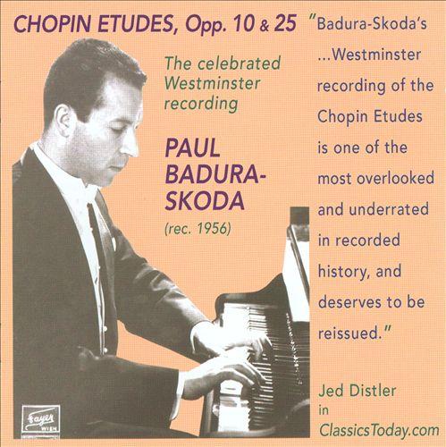 Chopin: Etudes, Opp. 10 & 25