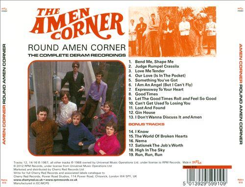 Round Amen Corner: The Complete Deram Recordings