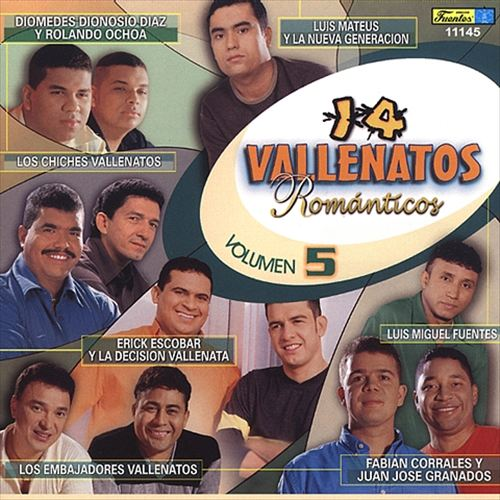 14 Vallenatos Romanticos, Vol. 5