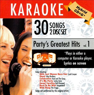 Karaoke: Party's Greatest Hits, Vol. 1