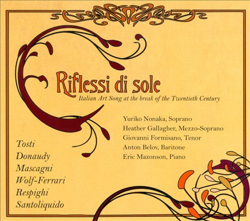 Riflessi di sole: Italian Art Song at the break of the 20th Century