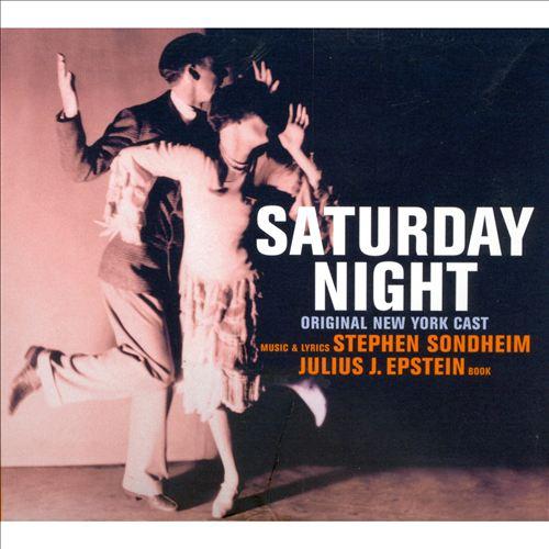 Saturday Night [Original New York Cast Recording]
