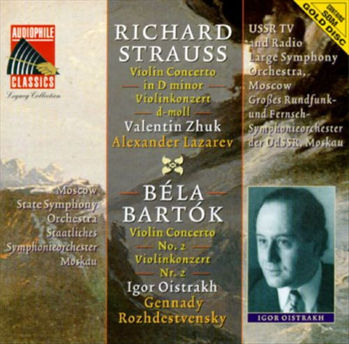 Strauss, Bartók: Violin Concertos