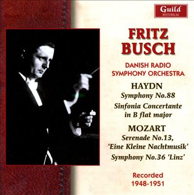 Fritz Busch Conducts Haydn & Mozart
