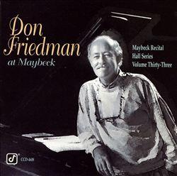 Don Friedman at Maybeck