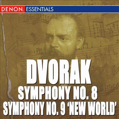 """Dvorák: Symphony No. 8 """"English Symphony"""" & 9 """"From The New World"""""""