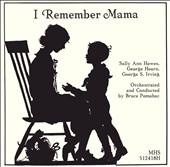 I Remember Mama [Studio Recording]