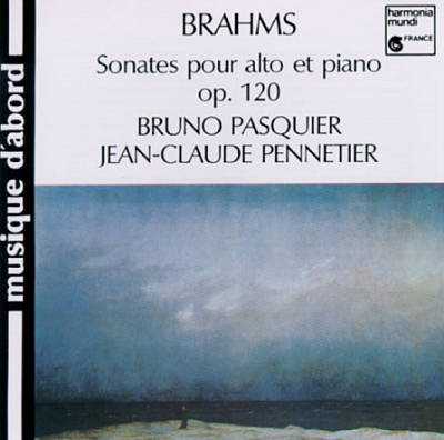 Brahms: Sonates pour alto et piano, op. 120