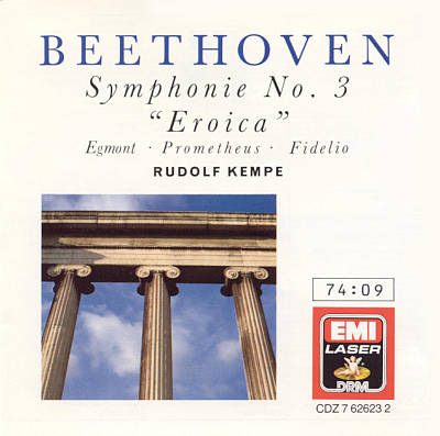 "Beethoven: Symphony No. 3 ""Eroica""; Overtures"