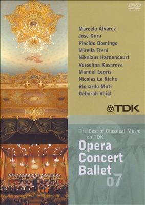 Opera Concert Ballet 07 [DVD Video]
