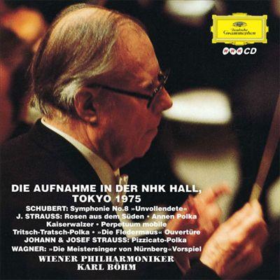 """Schubert: Symphonie No. 8 """"Unvollendete""""; J. Strauss: Rosen aus dem Süden; Etc."""
