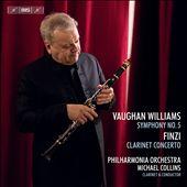 Vaughan Williams: Symphony No. 5; Finzi: Clarinet Concerto