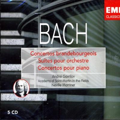 J.S. Bach: Brandenburg Concertos; Piano Concertos; Orchestral Suites