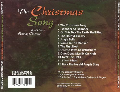 The Christmas Song and Other Holiday Classics