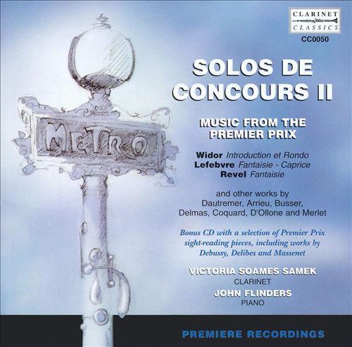 Solos de Concours II: Music from the Premier Prix