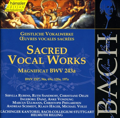 Bach: Sacred Vocal Works
