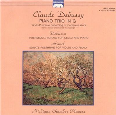 Debussy: Piano Trio in G