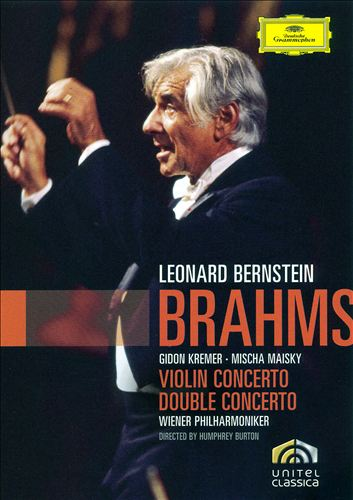 Brahms: Violin Concerto; Double Concerto [DVD Video]