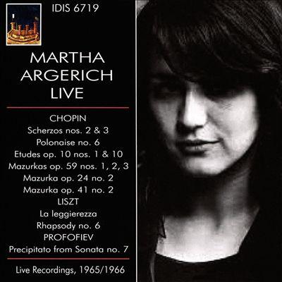 Martha Argerich Live: Live Recordings, 1965/1966