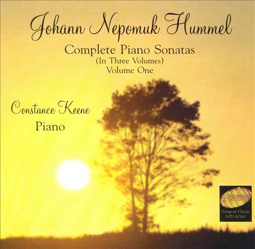 Johann Nepomuk Hummel: Complete Piano Sonatas, Vol. 1