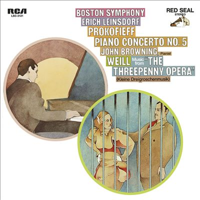 Prokofieff: Piano Concerto Nol 5; Weill: Music from The Threepenny Opera