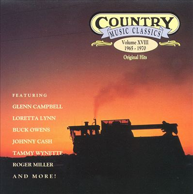 Country Music Classics, Vol. 18 (1965-70)
