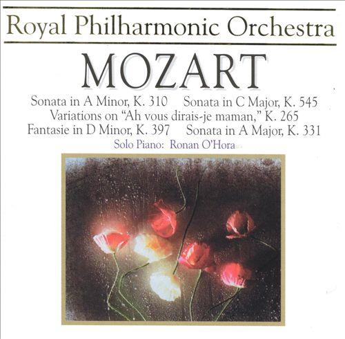 Mozart: Sonata; Fantasia; Variations on