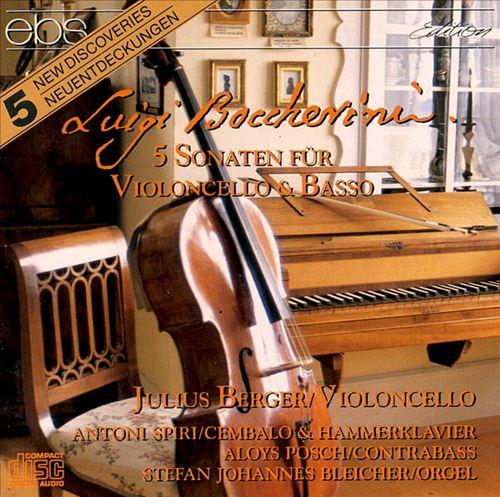 Boccherini: Cello Sonatas