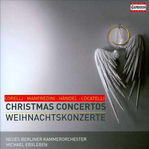 Corelli, Manfredini, Handel, Locatelli: Christmas Concertos