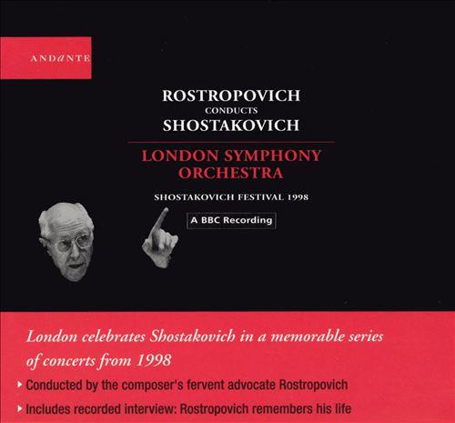 Rostropovich Conducts Shostakovich