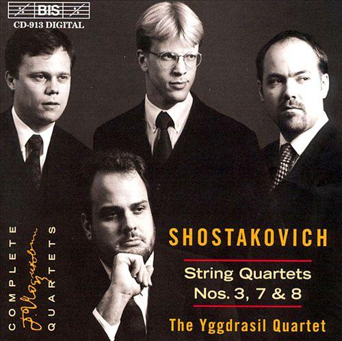 Shostakovich: String Quartets 3, 7, 8