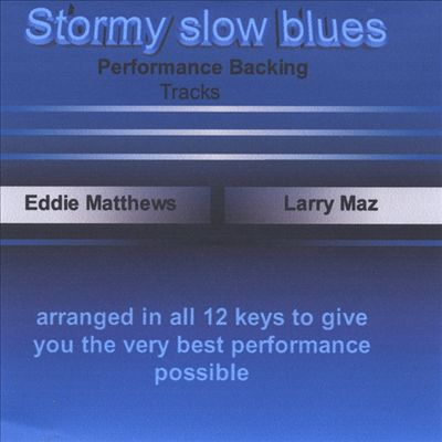 Stormy Slow Blues Backing Track, Vol. 3