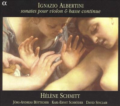 Ignazio Albertini: Sonates pour violon & bass continue