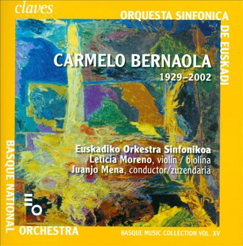 Basque Music Collection, Vol. 15: Carmelo Bernaola