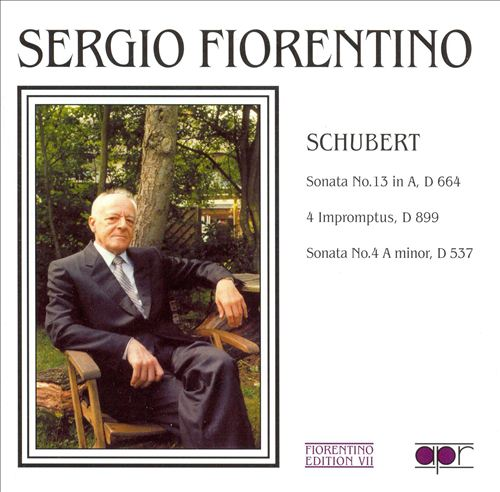 Schubert: Sonatas Nos. 4 & 13; 4 Impromptus
