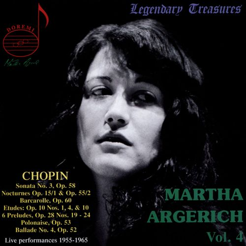 Martha Argerich, Vol. 4: Chopin
