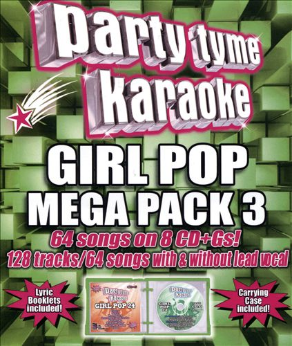 Party Tyme Karaoke: Girl Pop Mega Pack, Vol. 3