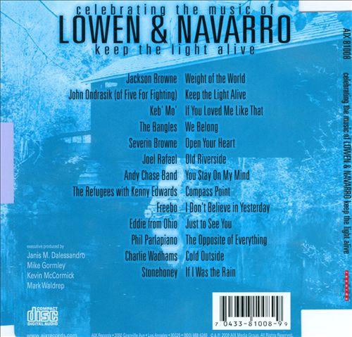 Keep the Light Alive: Celebrating the Music of Lowen & Navarro