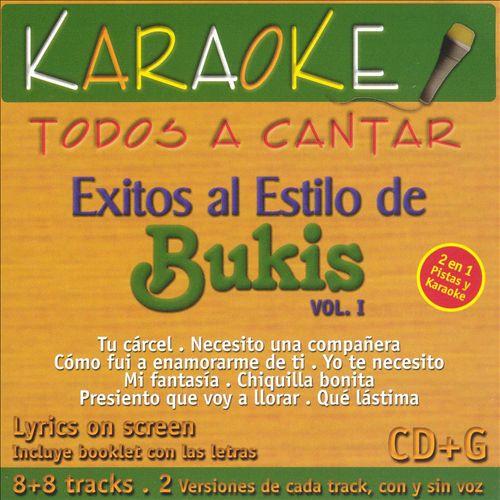 Exitos Al Estilo de Bukis, Vol. 1