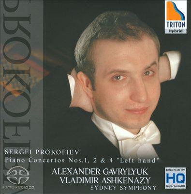 """Sergei Prokofiev: Piano Concertos Nos. 1, 2 & 4 """"Left Hand"""""""